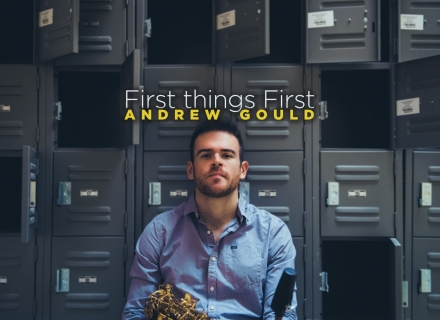 "Andrew Gould Announces Debut Album ""First things First"""